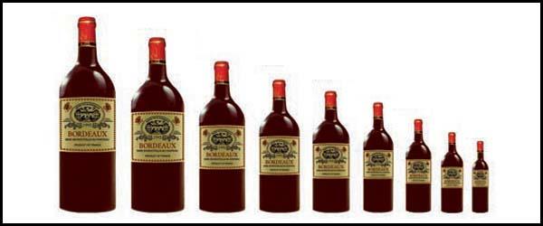 contenance et noms des bouteilles de vin alambic magazine. Black Bedroom Furniture Sets. Home Design Ideas