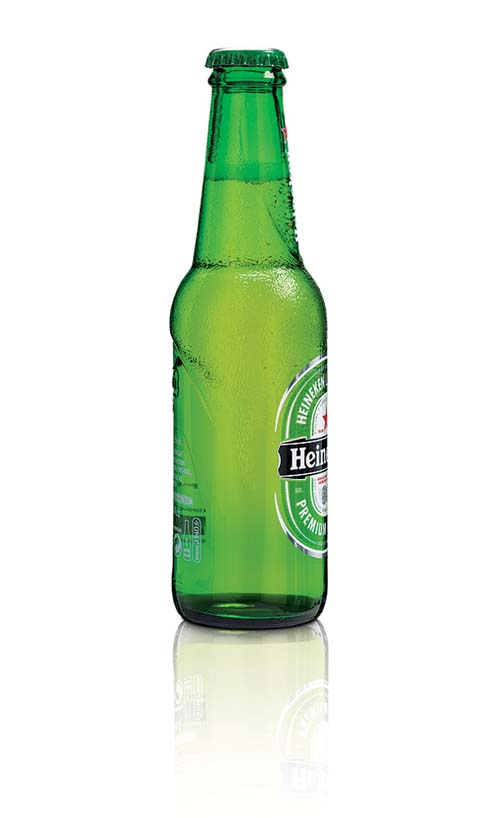 Heineken new bottle