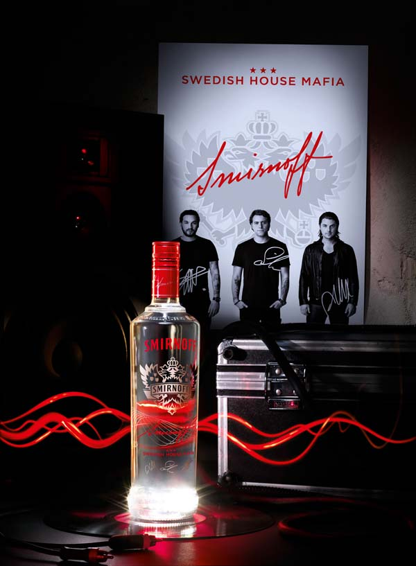 Smirnoff Red Pulsation Swedish House Mafia
